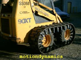 motiondynamics™ Over-the-Tire Rubber Tracks