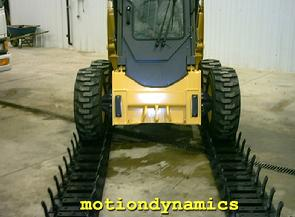 motiondynamics™ Over-the-Tire Rubber Tracks Easy Installation