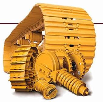 Dozer Steel Tracks & Undercarriage Parts for Bulldozers