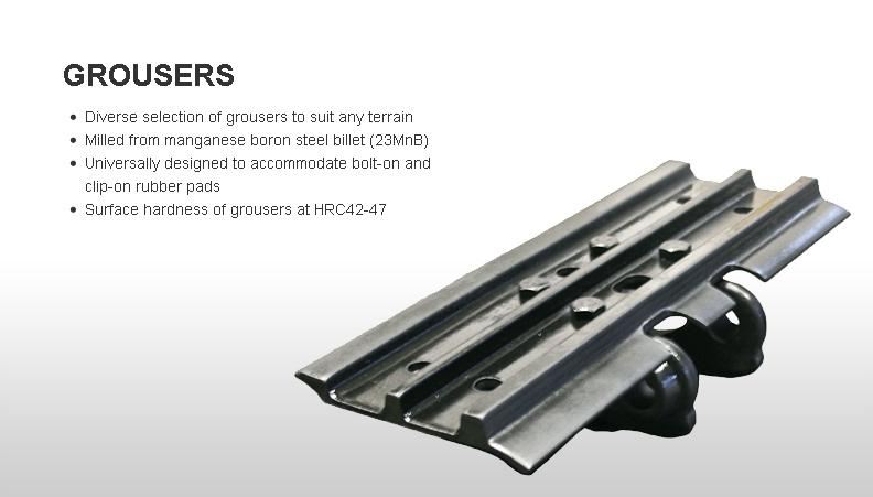 Motiondynamics Steel Tracks For Excavators And Mini